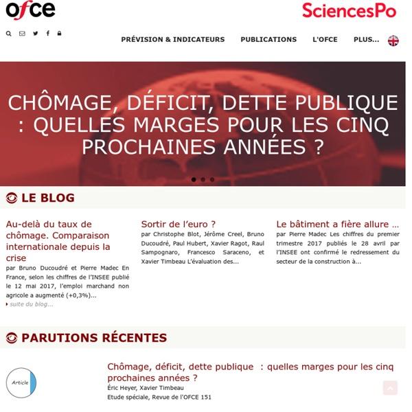 OFCE : Observatoire français des conjonctures économiques