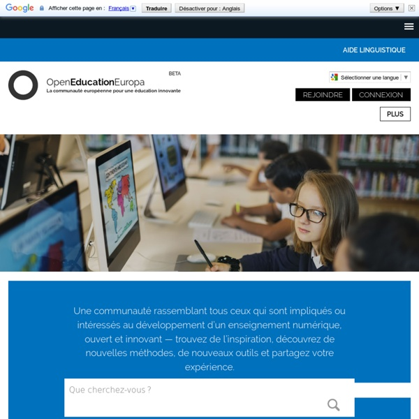 Opening up education through innovation