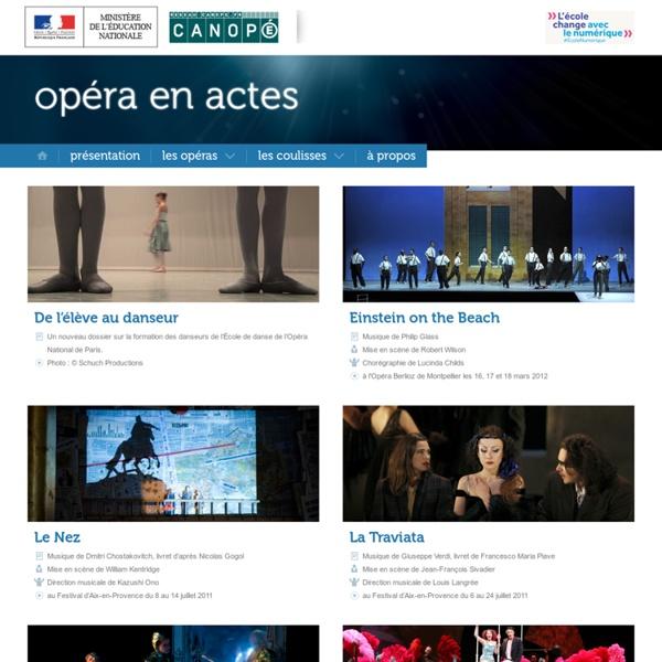 Accueil-Opéra en actes(Canopé)