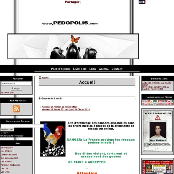 Accueil - Pédopolis