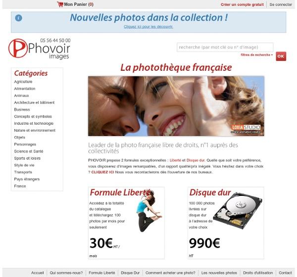 Accueil [Phovoir-Images]