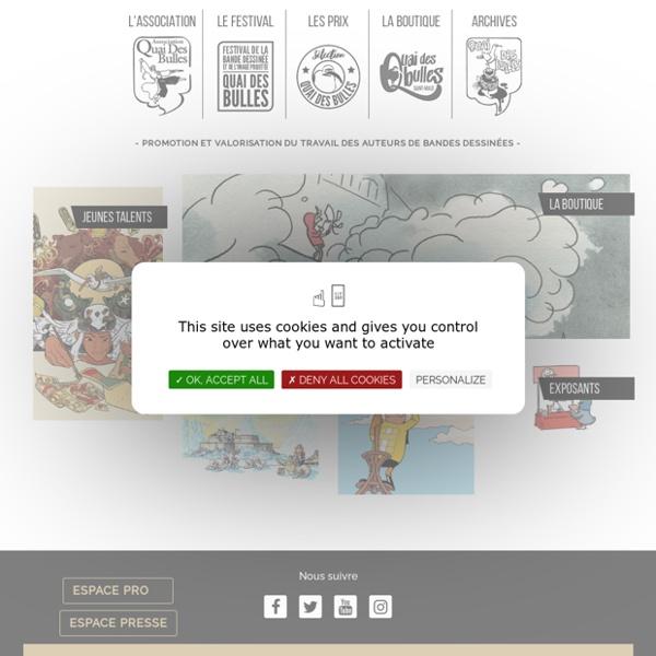 Festival de la BD - Saint Malo - Quai des bulles