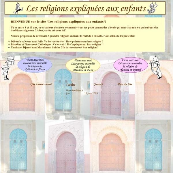 """Site """" Les religions expliquées aux enfants"""""""