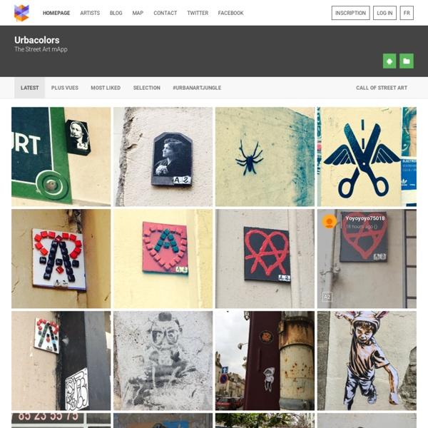 Urbacolors - Découvrez et Partagez le Street Art