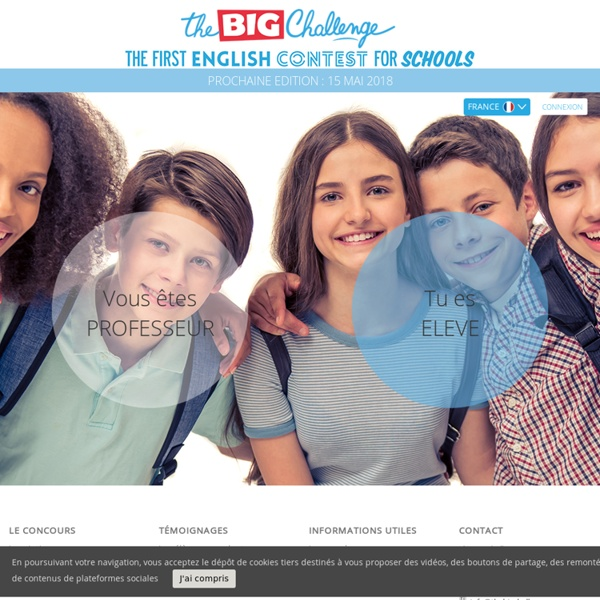 Accueil - The Big Challenge - France