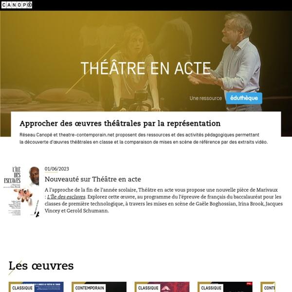 Théâtre en acte
