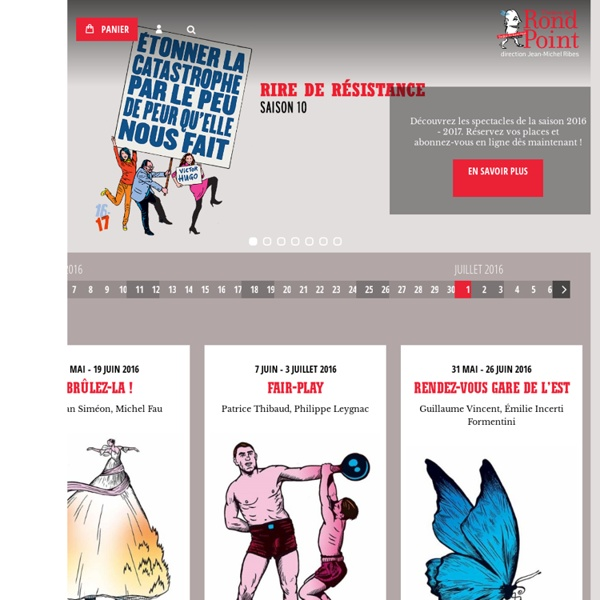 Théâtre du Rond-Point Paris - Direction Jean-Michel Ribes