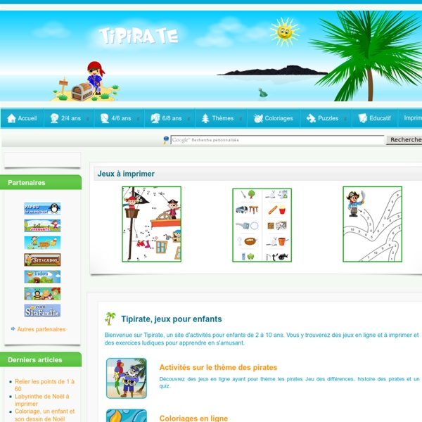 Accueil - Tipirate