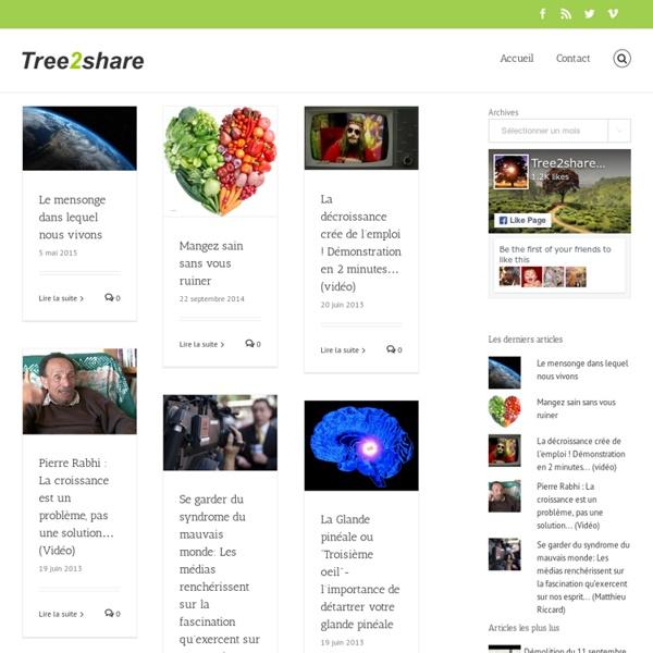Le site des Créatifs Culturels - tree2share