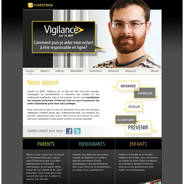 Vigilance sur le Net