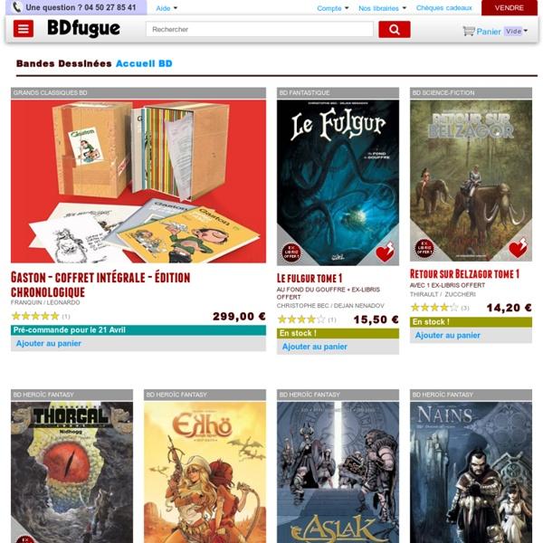 Achat BD, comics et manga
