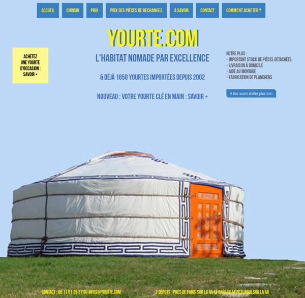 Yourte.com - Acheter une yourte traditionnelle mongole