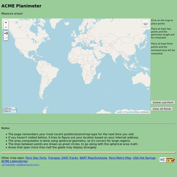 Planimetro ACME