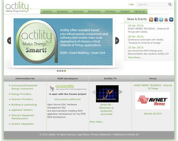 Actility - smart grid/smart building