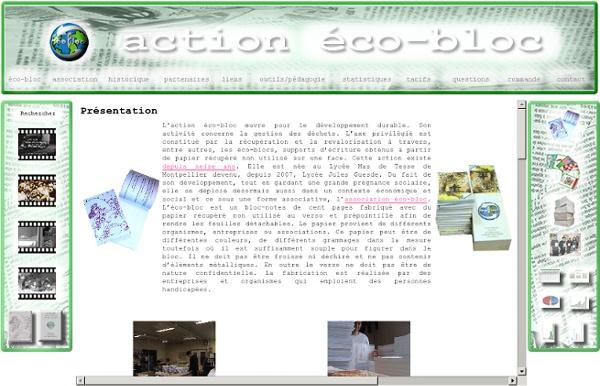 Action eco-bloc