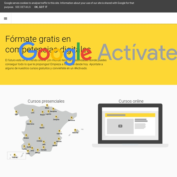 Fórmate – Actívate – Google