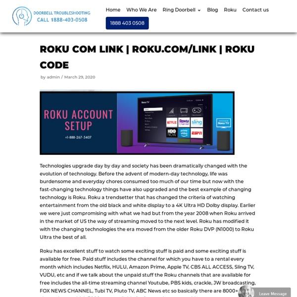 How To Activate Roku Com Link