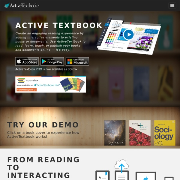 ActiveTextbook - Interactive Textbook Software from Evident Point