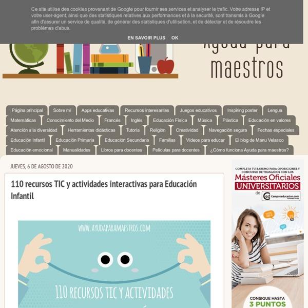 110 recursos TIC y actividades interactivas para Educación Infantil