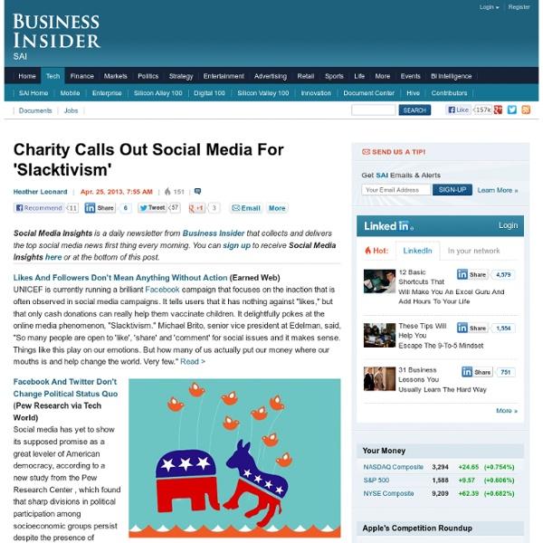 Activism On Social Media