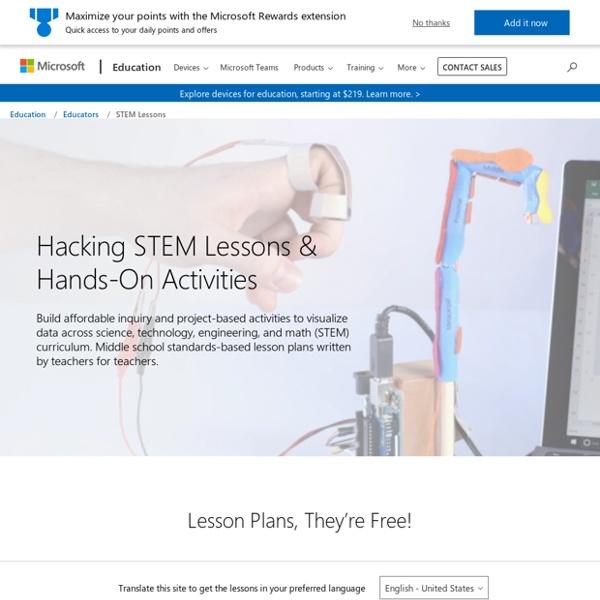Planes de lecciones y actividades prácticas STEM
