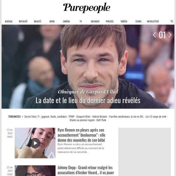 People – news people et actu – Purepeople.com