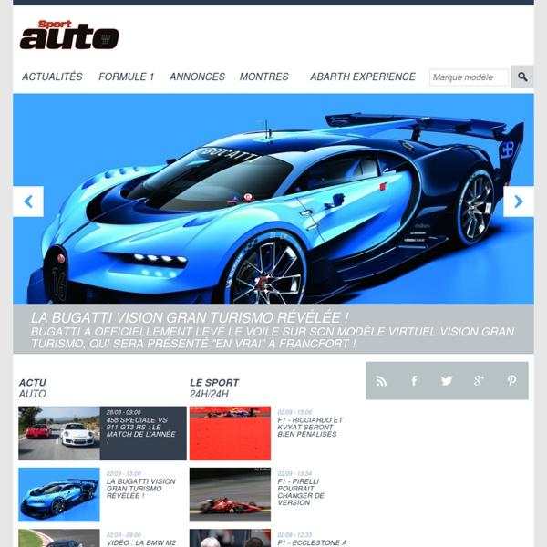 Sport Auto - Actualité F1, WRC, Endurance, GP2, WTCC, Nascar, etc