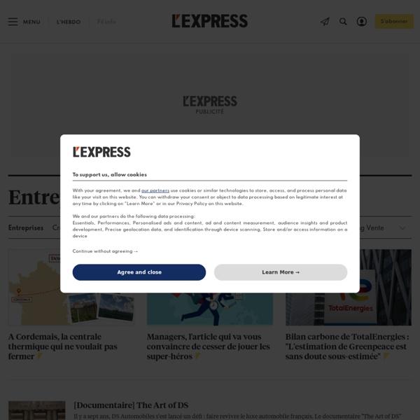 Revue : L'Express L'Entreprise