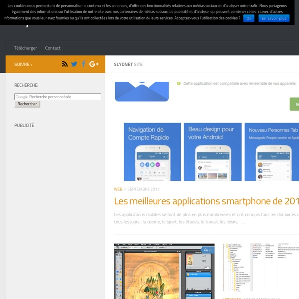 Actualité web 2.0 - Nouvelles Technos - Geekeries