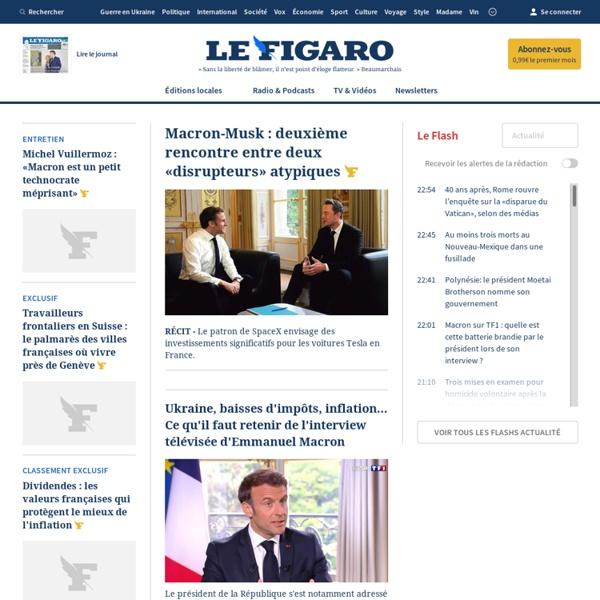 Le Figaro - Actualités