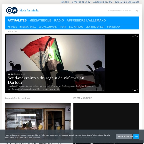 News and current affairs from Germany and around the world
