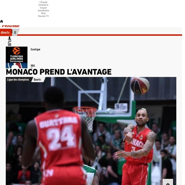 Basket : actualités, calendriers, matchs en direct et résultats basket - NBA, Pro A, Equipe de France