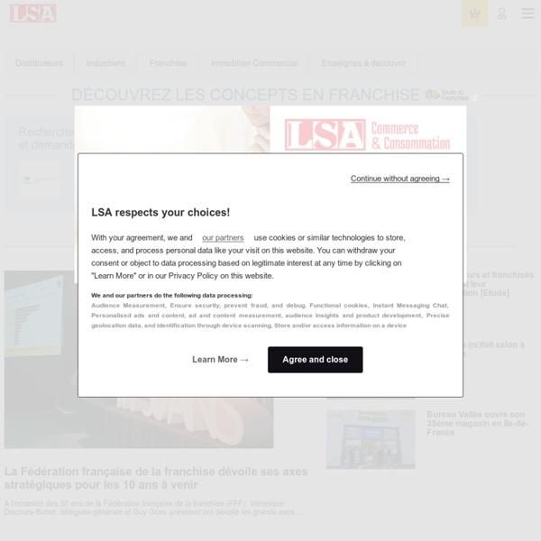 Toutes les actualités des grandes franchises sur le site de LSA Conso