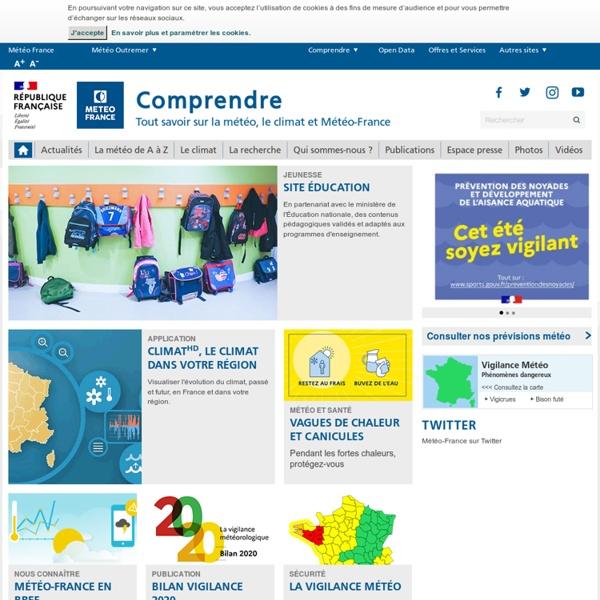 Météo-France : actualités sur la météo et le climat, dossiers, infographies, vidéos