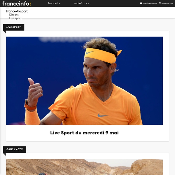 Sports : résultats, analyses, vidéos, championnats, l'actualité sportive en direct - France Télévisions