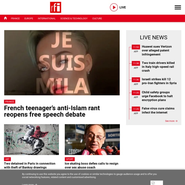 Actualités, info, news en direct - Radio France Internationale - RFI