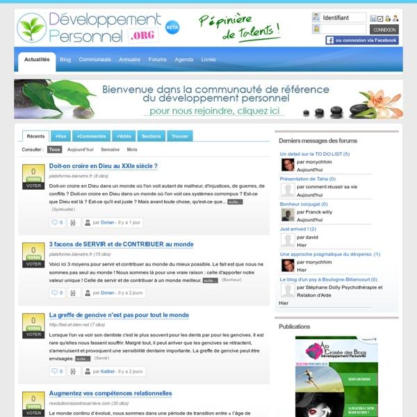 Développement Personnel.org