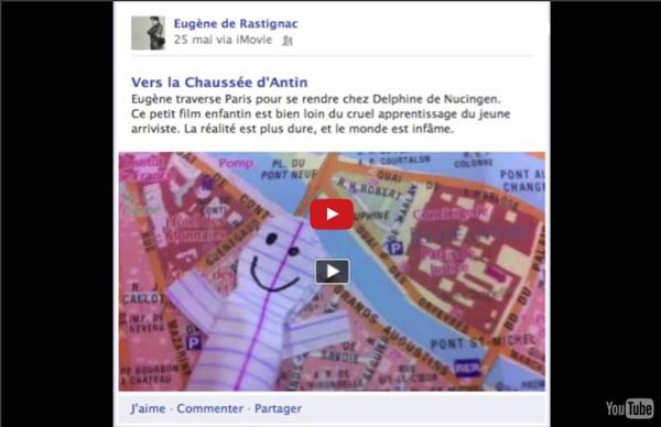 """""""Rastignac est ton ami"""" : adaptation numérique d'un roman de Balzac"""
