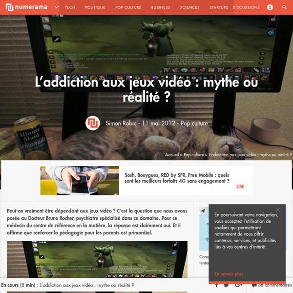 L'addiction aux jeux vidéo : mythe ou réalité ?