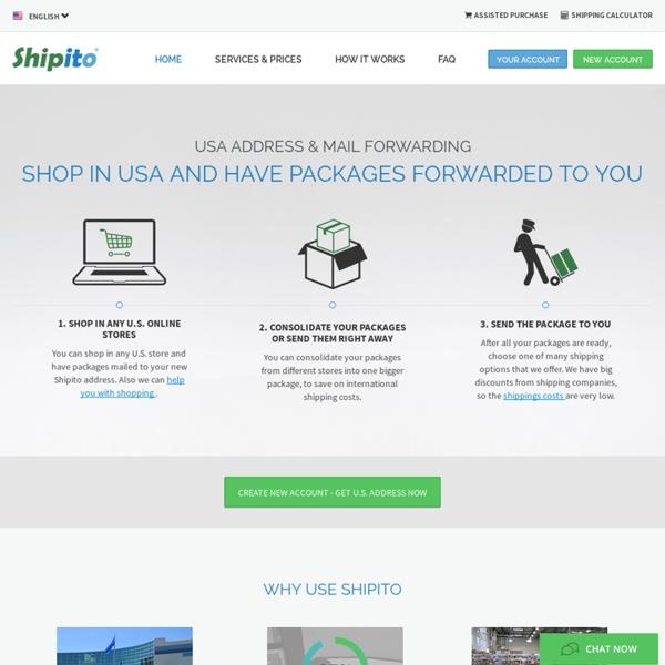 USA Address & Mail Forwarding – Shipito.com