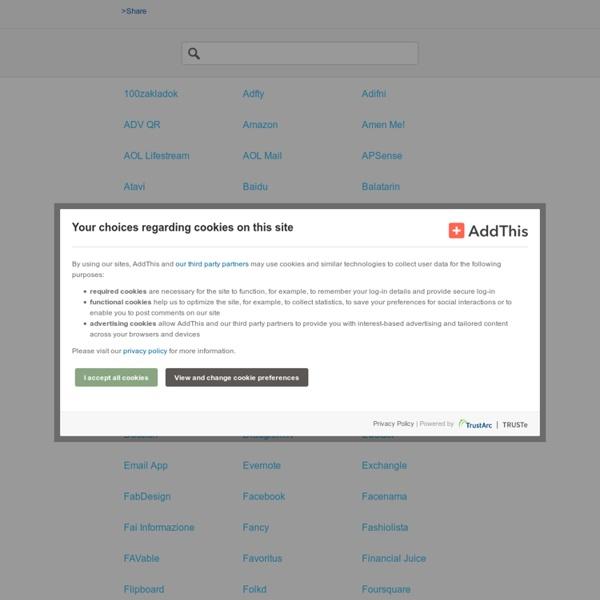 Social Bookmarking Sharing Button Widget