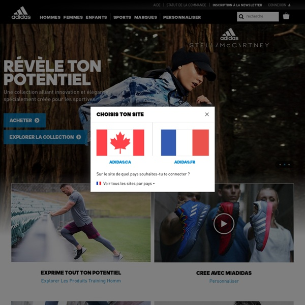 Site Officiel adidas