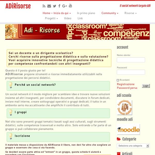 ADiRisorse – Il social network targato ADi