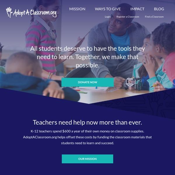 Home - Adopt A Classroom