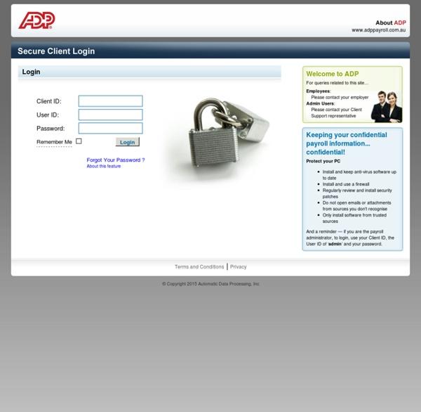 ADP Secure Client Login