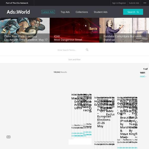 Creative Advertising Archive & Community