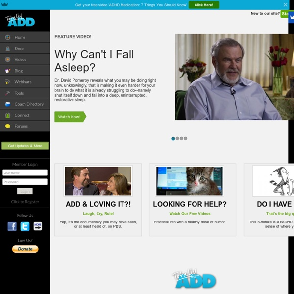 Com: A complete guide to Adult ADD and ADHD (Adult At