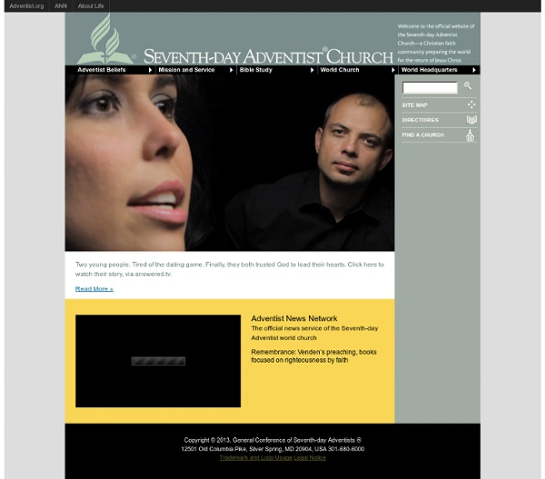 Adventist.org: The Official Site of the Seventh-Day Adventist World Church