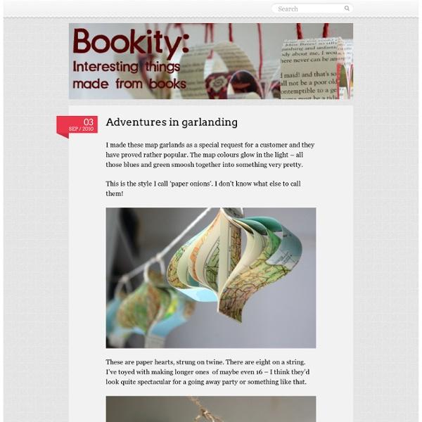 Adventures in garlanding « Bookity