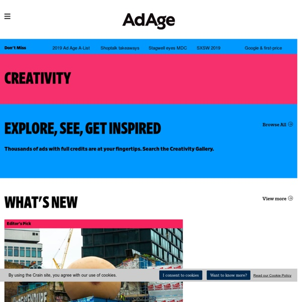 The best in advertising, design, and digital creativity - AdCritic - Creativity Online